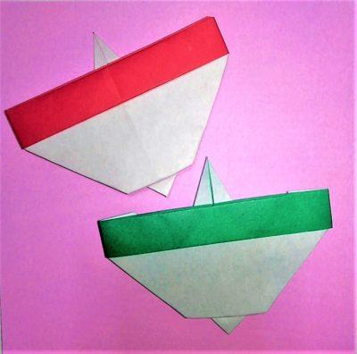折り紙 コマ 簡単
