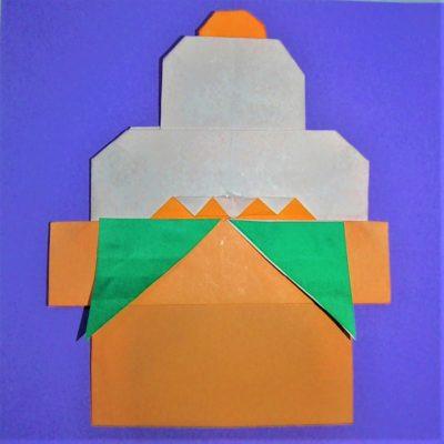 鏡餅 折り紙